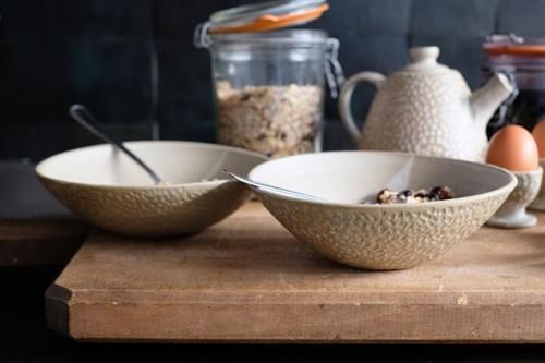Bols motif 'grains de riz'