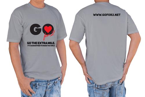 GO for 2 Tshirts