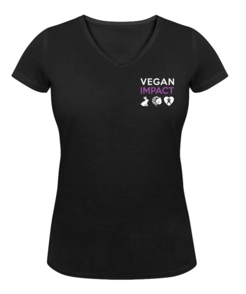 T-shirt Je suis vegan (Coupe cintrée)