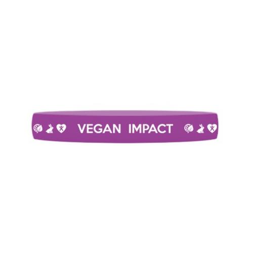 Bracelet Vegan Impact Violet