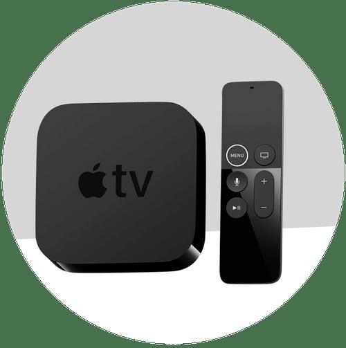Apple TV (Rental Fee $560 - $630)