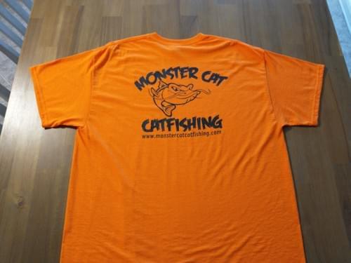 MONSTER CAT GILDAN DRYBLEND TEE SHIRT