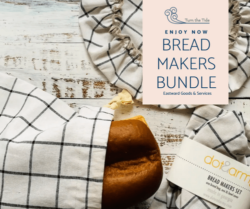 Eastward Bread Maker's Kit (includes organic yeast!) benefitting NJ Food Bank