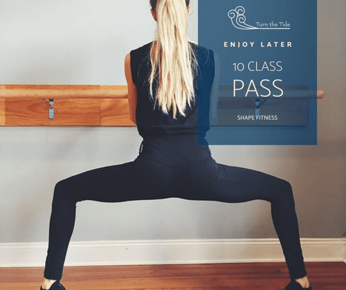 Value $120: 10 Class Pass at Shape Fitness and Wellness Studios