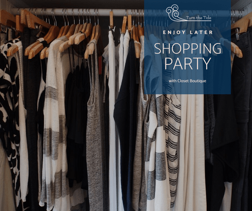 Private Shopping Party + Spray Tan and Chair Massage at Closet Boutique