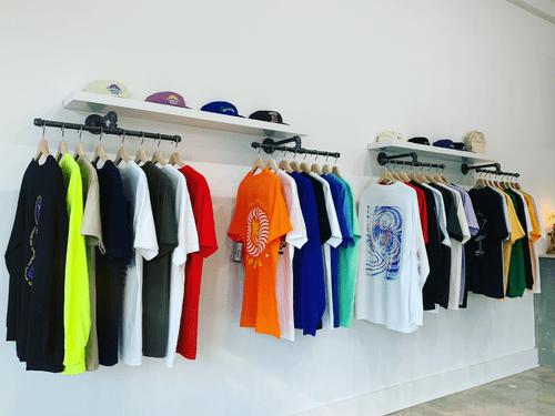 Industrial Wall Mount Clothing/ Garmet Rack