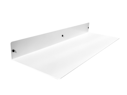 Powder Coated Forged Steel Linear Floating Shelf