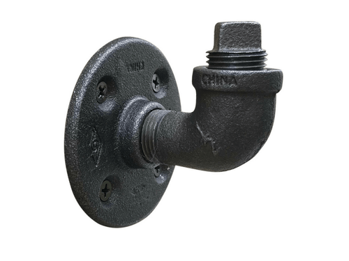 90-Degree Industrial Pipe Hook