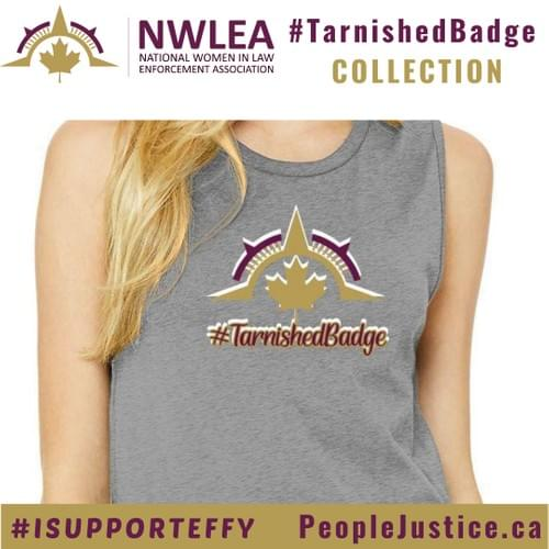 Tarnished Badge Bella + Canvas Ladies Jersey Tank
