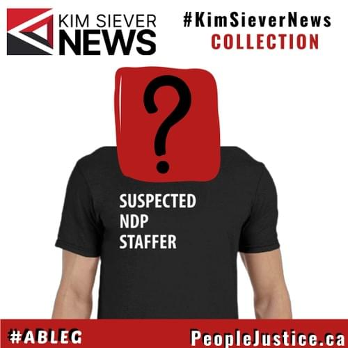 KSN-Suspected NDP Staffer Tee