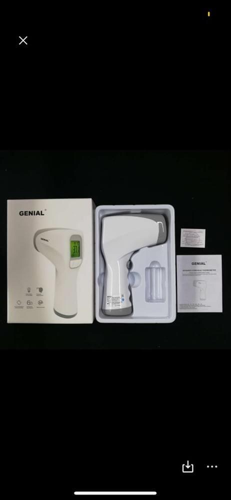 Thermomètre laser infrarouge numérique