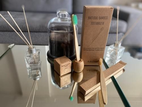 Brosse à dent bambou - sans bisphénol, recyclable, non toxique