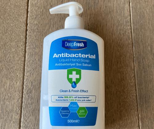 Savon anticactérien Deepfresh - tue 99,99% des bactéries