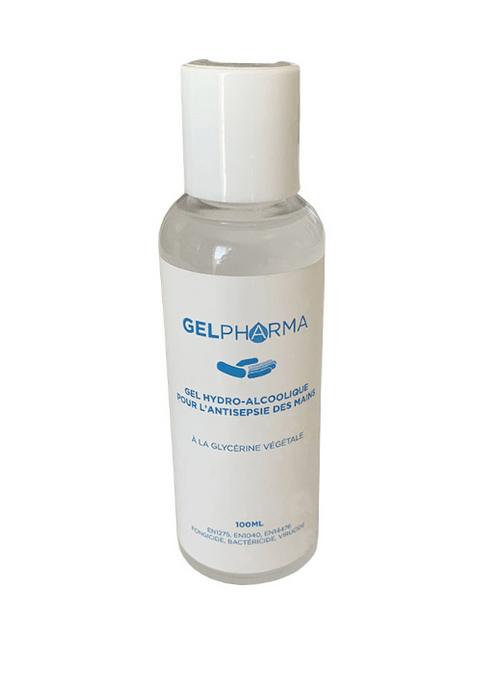 Gel hydroalcoolique 100 ml - virucide, bactéricide, fongicide