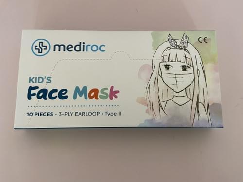 Masque chirurgical KIDS TYPE 2 EN14683 - Boite de 10 masques