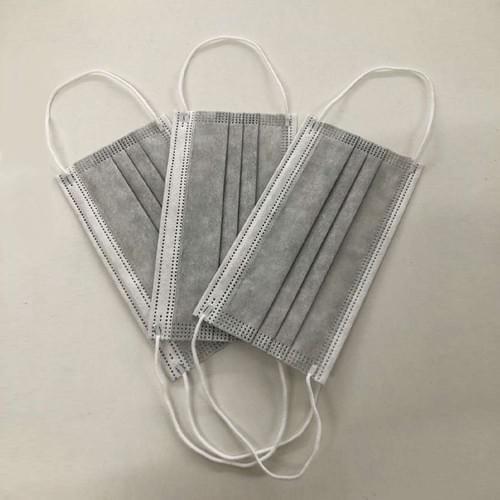 Masque jetable GRIS - Boite de 50 masques