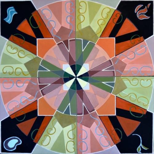 Quaternity mandala