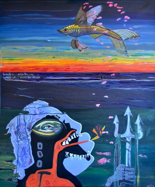 Neptune and the Flying Fish
