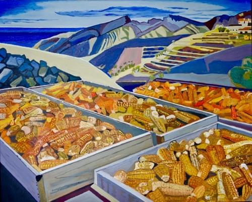 Alojera summer: corn to gofio