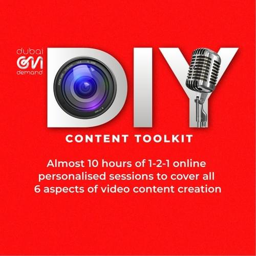 DIY Video Content Toolkit - Online 1-2-1 Sessions