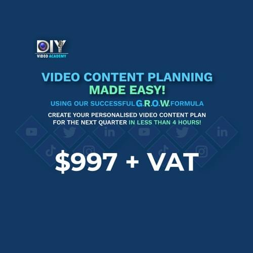 GROW your Video Content Plan!