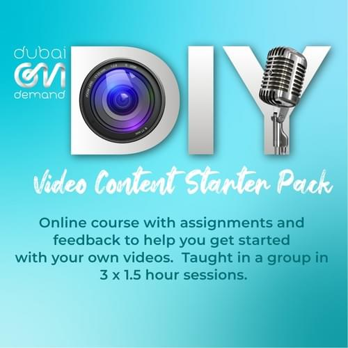 DIY Video Content Starter Pack - Online Course