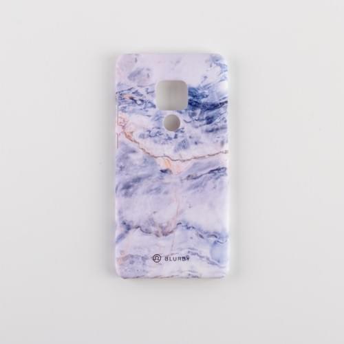 Blurby Matte Ocean White Marble Fashion Case