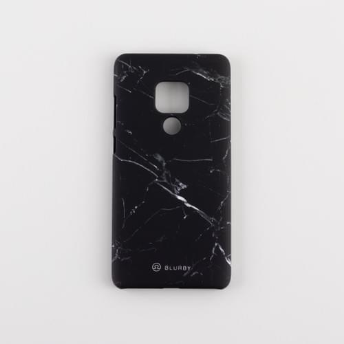 Blurby Matte Onyx Black Marble Fashion Case
