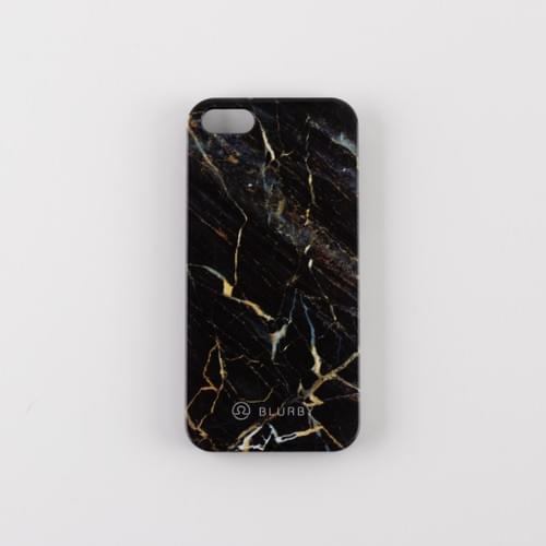 Blurby Black Gold Marble Glossy