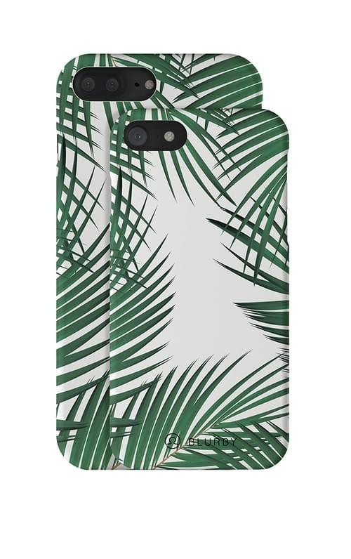 Blurby Paradise Palm Leaf Matte Silk