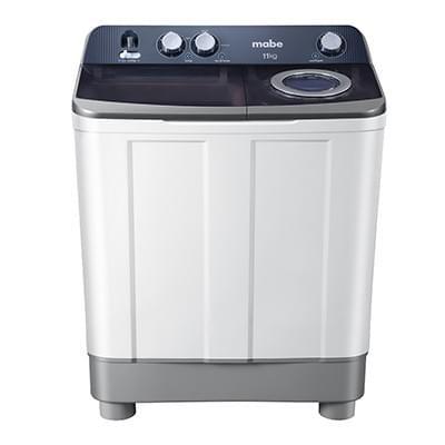 Lavadora semiautomática Mabe LMD1123PBAB0  11 kg