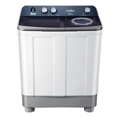 Lavadora semiautomática Mabe LMDX3124PBABO  13 kg