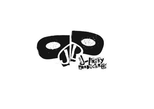 J. Lasky Productions B&W Sticker