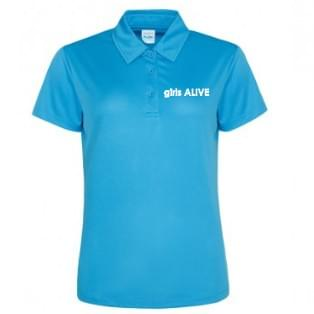 girls ALIVE polo shirt (Ladies sizes)