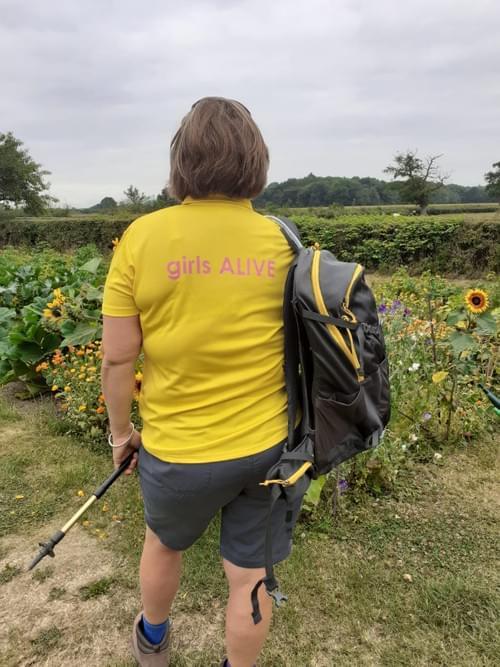 girls ALIVE polo shirt (Ladies sizes)