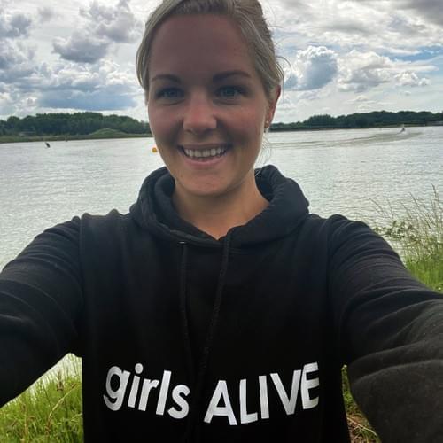 girls ALIVE hoody (Ladies sizes)