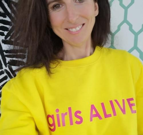girls ALIVE sweatshirt (Unisex sizes)