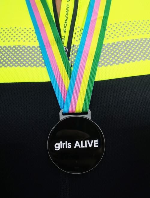girls ALIVE PB challenge