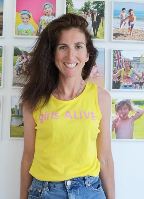 girls ALIVE sports vest (Ladies sizes)