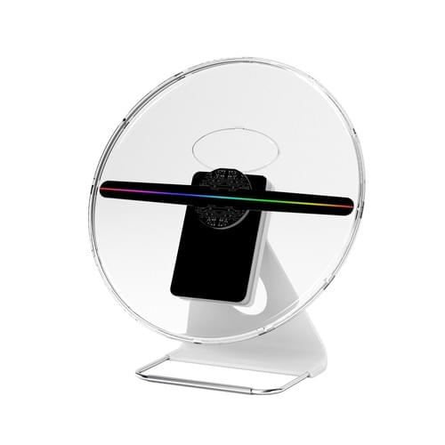Fursol F-Z6 30cm 3d holographic fan with chargeable battery&cover 256*256pixel