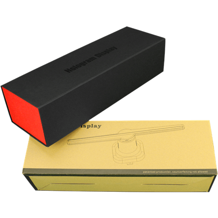 F-Z2 42cm WiFi 3D Hologram Advertising Display LED Fan 450*384 pixel