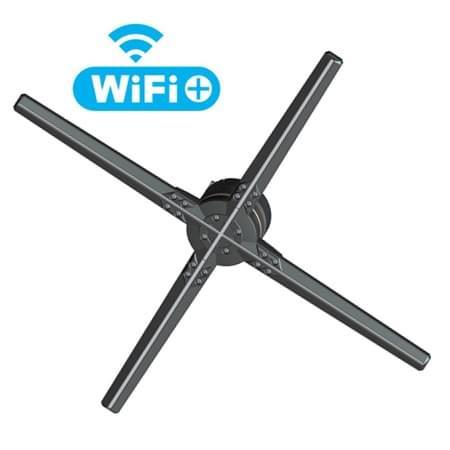 F-Z3   65cm WIFI 3D Hologram display Fan with 1600*720pixel