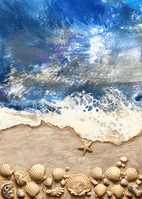 Kaye's Art - Seashell Shore