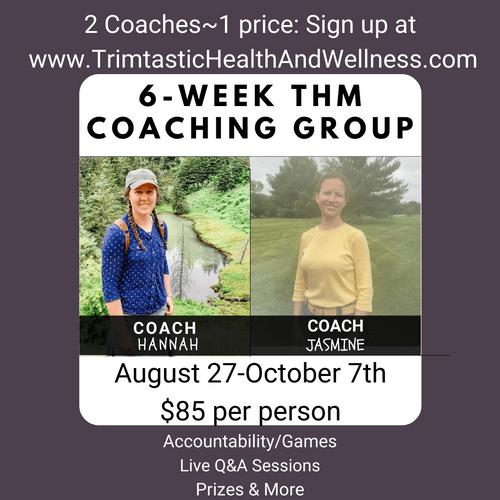 6-Week Accountability Group: $85.00