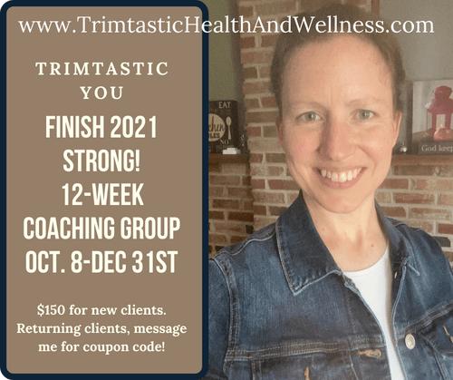 12 Week Online Coaching Group-Finish 2021 Strong!