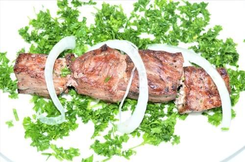 Beef Tikka Skewer