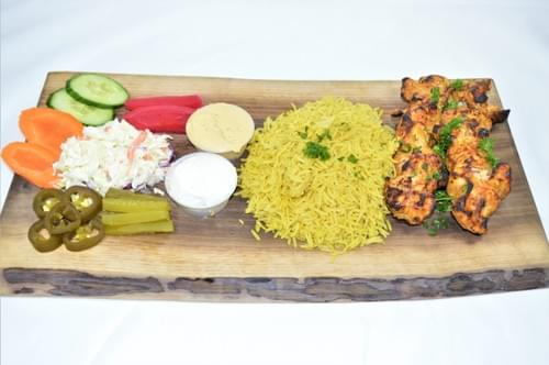 Shish Tawook Plate