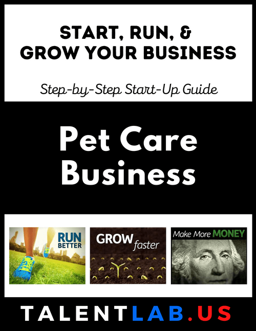 Pet Care Business - Step-By-Step Startup Guide Kindle eBook
