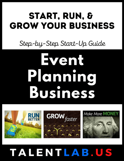 Event Planning Business - Step-By-Step Startup Guide Kindle eBook
