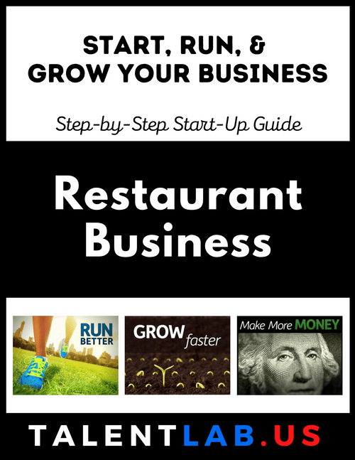 Restaurant Business - Step-By-Step Startup Guide Kindle eBook